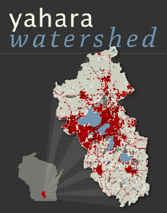 yahara watershed map